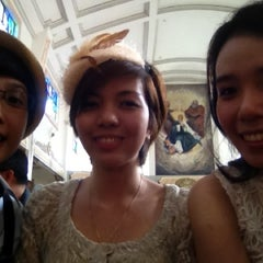 Photo taken at San Guillermo Parish Church by Aesa S. on 12/8/2012