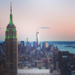 Photo taken at Top of The Rock Observation Deck by David B. on 5/14/2013