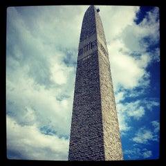 Photo taken at Bennington Monument by Ian H. on 7/14/2013