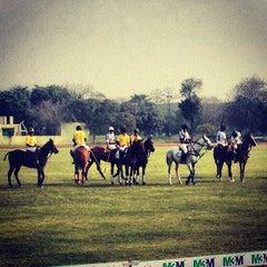 Photo taken at Delhi Riding Club by Suket D. on 2/13/2013