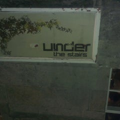 Photo taken at Under the Stairs by Salem P. on 3/24/2013