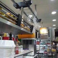 Photo taken at Stillus Burger by Richard M. on 9/16/2013