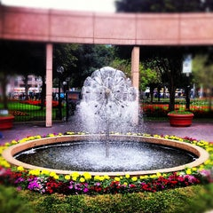 Photo taken at Parque Kennedy by Mauricio C. on 10/13/2012