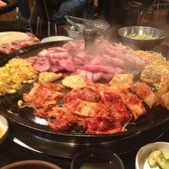 Photo taken at Honey Pig Korean BBQ by Alaina M. on 7/2/2013