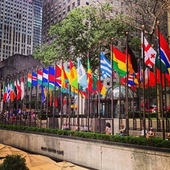 Photo taken at Rockefeller Center by leeleechicago on 5/31/2013