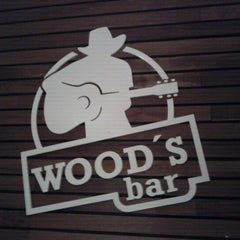 Photo taken at Wood's Bar by Felipe L. on 9/15/2012
