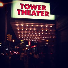 Photo taken at Tower Theater by Brandon G. on 10/5/2013