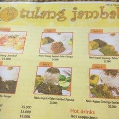 Photo taken at Tulang Jambal by Mimih T. on 10/6/2012
