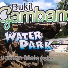 Photo taken at Bukit Gambang Water Park by Amirul M. on 12/12/2012