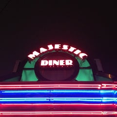 Photo taken at Majestic Diner by Dan S. on 7/1/2013
