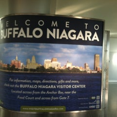 Photo taken at Buffalo Niagara International Airport (BUF) by Rachal T. on 4/2/2013