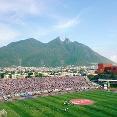 Photo taken at Estadio Tecnológico by Diana G. on 7/27/2013