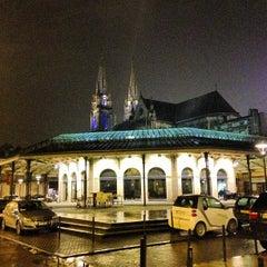 Photo taken at Place du Marché des Chartrons by Jean-François L. on 1/18/2013