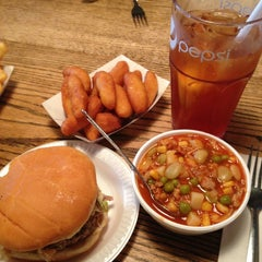 Photo taken at Stamey's Old Fashioned Barbecue by Aaron D. on 7/20/2013