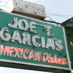 Photo taken at Joe T. Garcia's by Charles G. on 12/9/2012