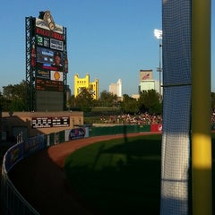 Photo taken at Raley Field by Eric N. on 4/28/2013