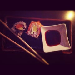 Photo taken at Sake Sushi Bar by Katrin O. on 10/26/2012