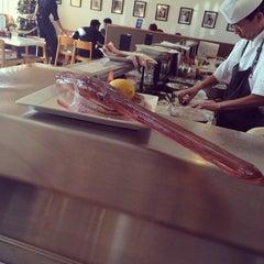 Photo taken at Sushi Noguchi by Jason G. on 12/20/2013