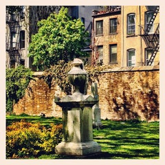 Photo taken at New York City Marble Cemetery by Benny M. on 5/5/2013