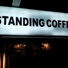 Photo taken at STANDING COFFEE by Koo on 10/23/2012