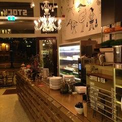 Photo taken at Stock Café by Malice on 12/22/2012