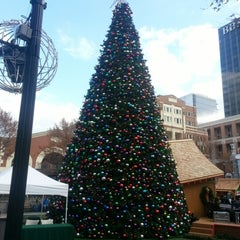 Photo taken at Atlantic Station Central Lawn by Anubhav J. on 12/1/2012