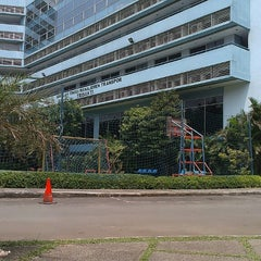 Photo taken at Campus STMT TRISAKTI by Fiqky R. on 8/30/2014