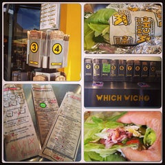 Photo taken at Which Wich? Superior Sandwiches by Dora S. on 6/24/2013