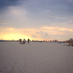 Photo taken at Civic Beach (Point Lookout) by Bre T. on 8/19/2014