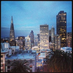 Photo taken at The Fairmont San Francisco by Hannah K. on 5/9/2013