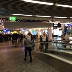 Photo taken at Concourse A by Ed K. on 12/1/2012