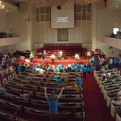 Photo taken at First Baptist Church of Tallahassee by Jeff L. on 2/24/2013
