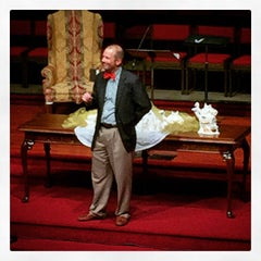 Photo taken at First Baptist Church of Tallahassee by Jeff L. on 12/24/2014