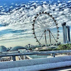 Photo taken at The Singapore Flyer by Bir Zamanlar on 6/11/2013