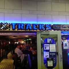 Photo taken at Tracks Raw Bar & Grill by Scott S. on 2/24/2013