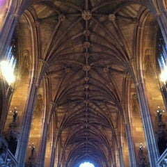 Photo taken at The John Rylands Library by Lucas T. on 11/4/2012