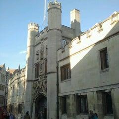 Photo taken at Cambridge by Ana O. on 11/11/2012