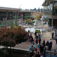Photo taken at Microsoft Commons by Fa R. on 10/31/2013