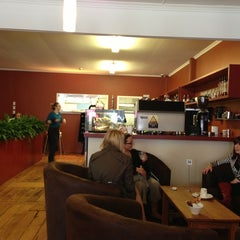Photo taken at Cheese and Deli Cafe by Sophie S. on 11/3/2012