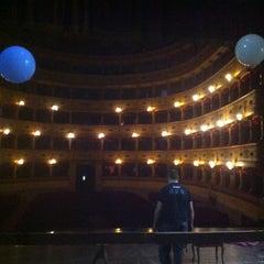 Photo taken at Teatro Sociale di Mantova by Dani K. on 4/12/2014