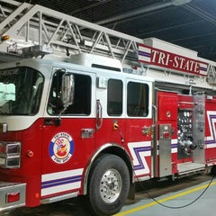 Photo taken at Tri-State Fire Station 2 by Liz S. on 8/7/2015