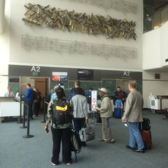 Photo taken at Gate A2 by Heather M. on 8/29/2014