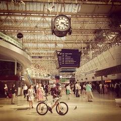 Photo taken at London Waterloo Railway Station (WAT) by ragnar l. on 7/8/2013