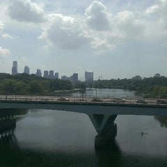 Photo taken at Connecting Railroad Bridge by Christopher B. on 7/21/2013