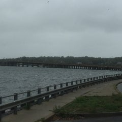 Photo taken at Oceanic Bridge by Jack D. on 10/3/2015
