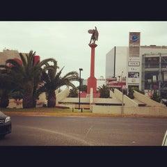 Photo taken at Óvalo Gutiérrez by Steven M. on 11/22/2012