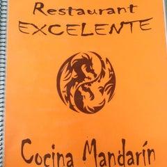 Photo taken at Restaurant Excelente. Cocina Mandarin by Ekipao C. on 11/17/2012