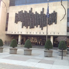Photo taken at Pace University by Ray C. on 4/9/2013