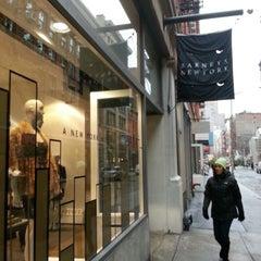 Photo taken at Barneys New York, Soho by William C. on 12/10/2013