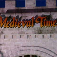 Photo taken at Medieval Times Dinner & Tournament by Kymar on 1/20/2013